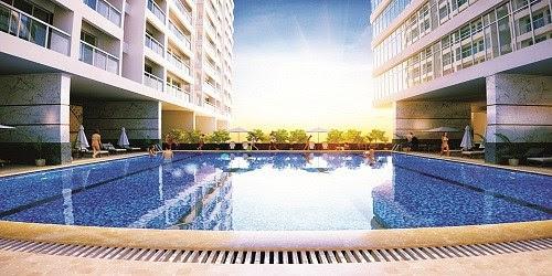 Bể bơi tại dự án Park View Residence