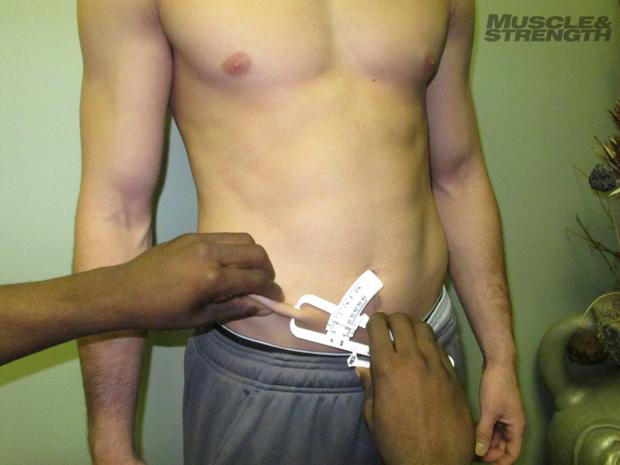 body fat percentage using skin calipers