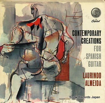 ALMEIDA, LAURINDO contemporary creations for spanish guitar