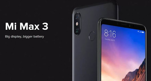 [$127 Light in The Box Promo Code] Xiaomi Mi Max 3 Buy for $261 + Global Shipping