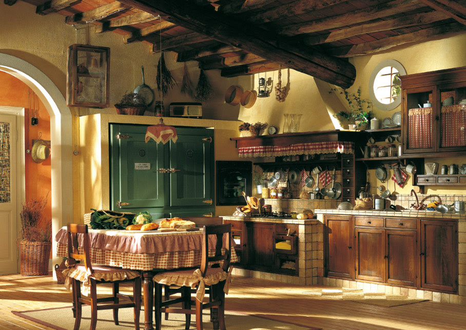 old town and country style kitchen pictures - Country Style Kitchen Designs