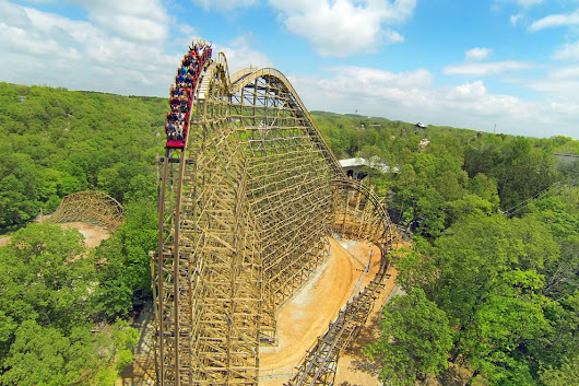Vote - Outlaw Run - Best Roller Coaster Nominee:  2015 10Best Readers' Choice Travel Awards