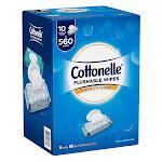 Cottonelle Fresh Care Flushable Cleansing Cloths, 560 Cloths