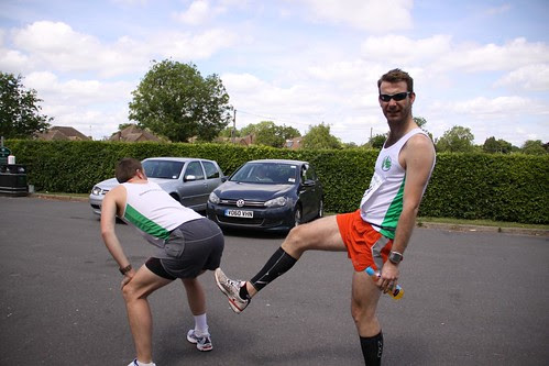 green belt relay - Tappo on how he was going to beat me in this leg by ultraBobban