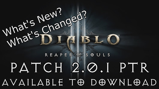 Diablo 3, Patch 2.0.1 now live!