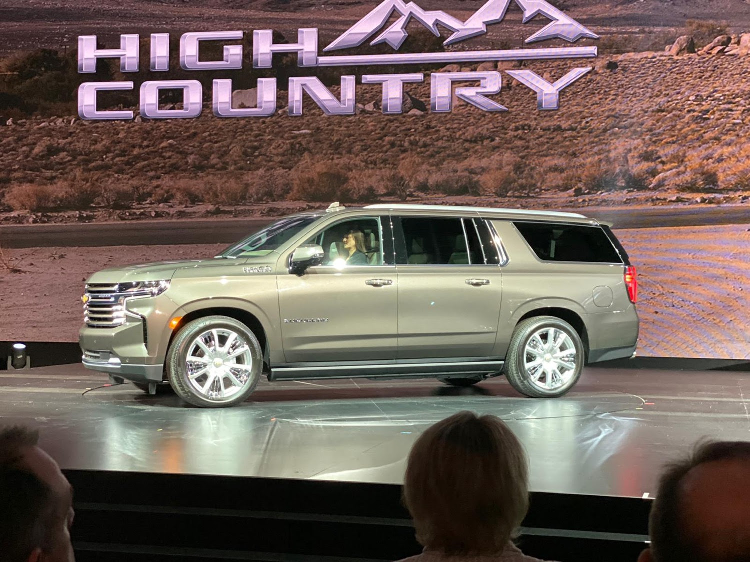 first photos of the 2021 chevrolet suburban  gm authority