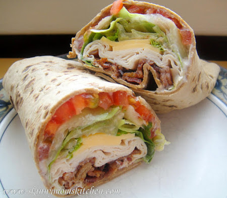 TURKEY RANCH CLUB WRAP ********** Recipe