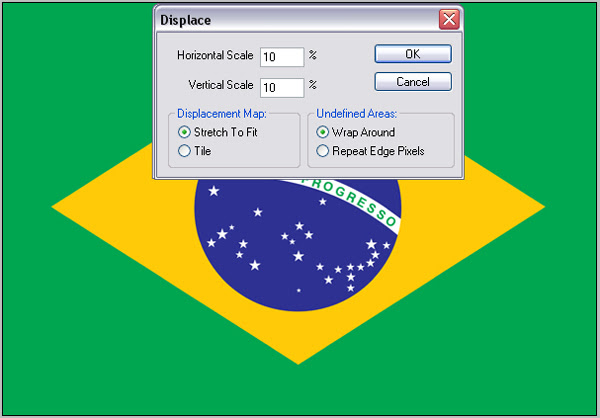 Make Most Realistic Flag in Photoshop image 7