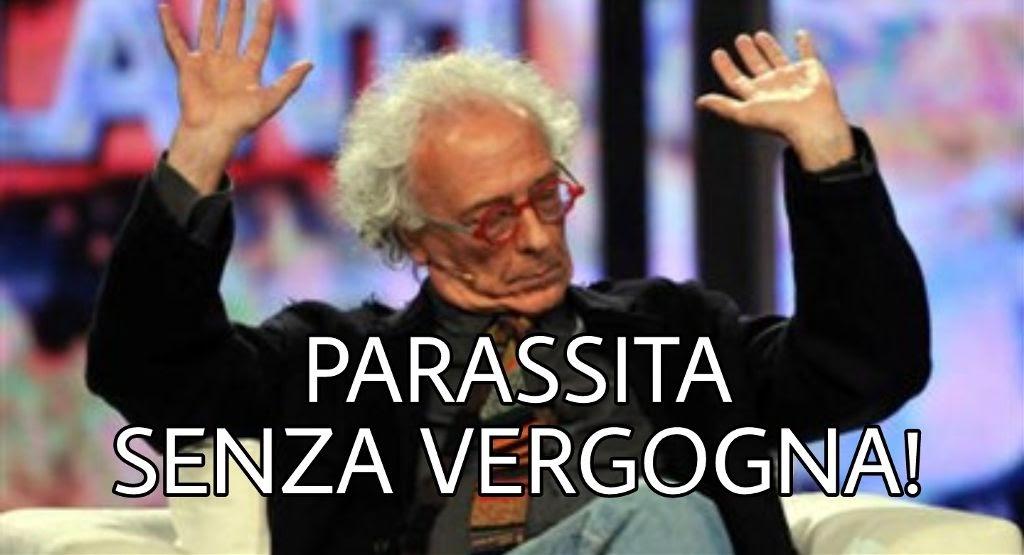 """""""PRENDO 170MILA EURO DI PENSIONE, MA SE MI DITE PRIVILEGIATO VI SPACCO IL CULO"""": COSI' MUGHINI AI MICROFONI DELLA ZANZARA"""