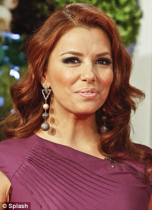 Risultati immagini per eva longoria red hair