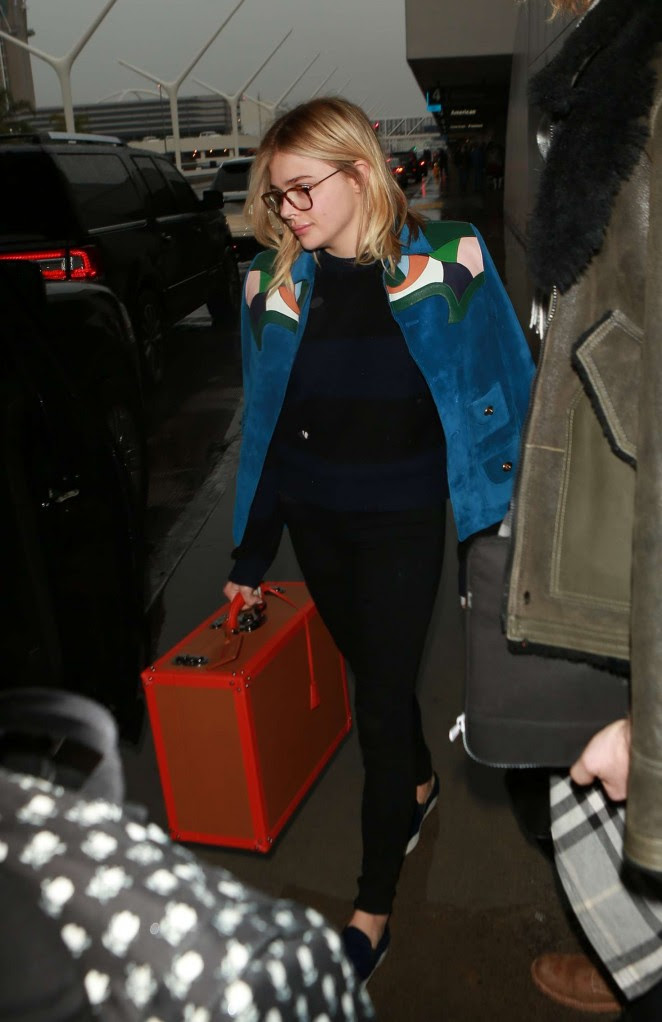 Chloe Moretz: Arrives at LAX Airport -04