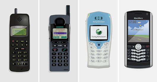 Evolution of the Mobile Phone - From Simple To Smart