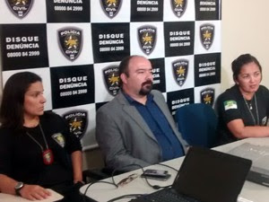 Delegadas da Deicor concederam entrevista sobre a operação Kidnap, no RN (Foto: Divulgação/Polícia Civil)