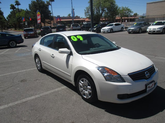 Used 2009 Nissan Altima 2.5 for Sale in Las Vegas NV 89110 RT Motorsports Auto Sales