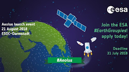 Join the #EarthGroupies at the Aeolus SocialSpace event