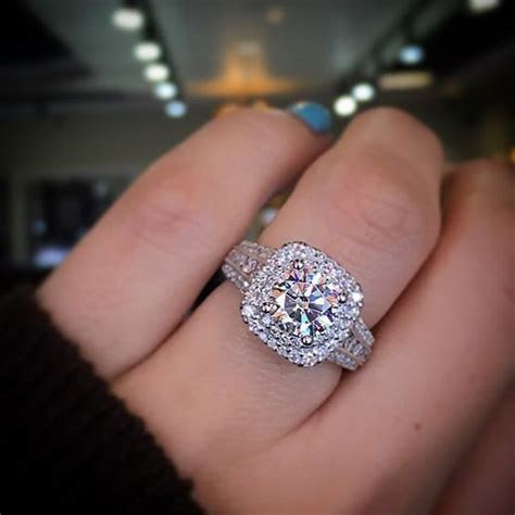 Pin by Vorra on Engagement Ring   Big wedding rings