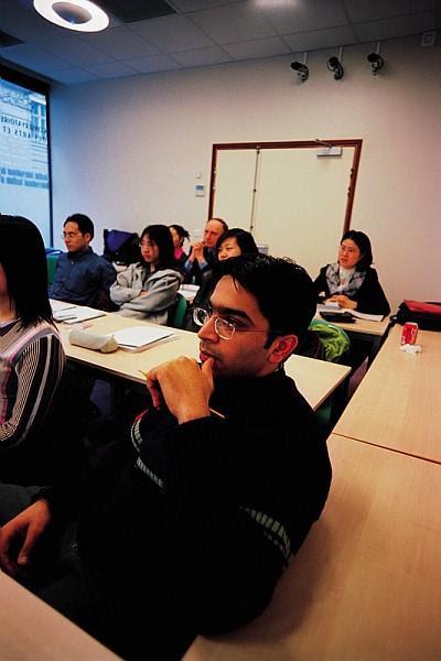 Auditeurs et enseignant