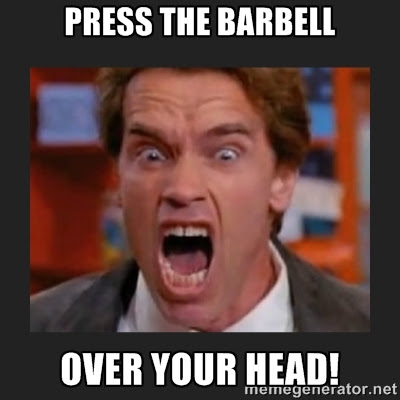 Image result for crossfit meme pushpress