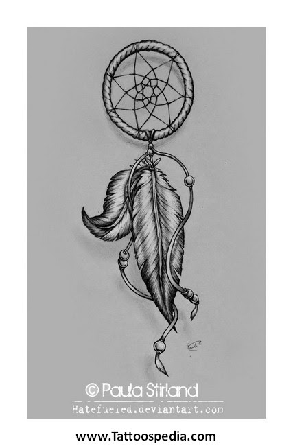 Dreamcatcher Tattoo With Kids Names 1