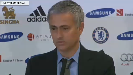 Footballers Direct: Mourinho's 1st Press Conference