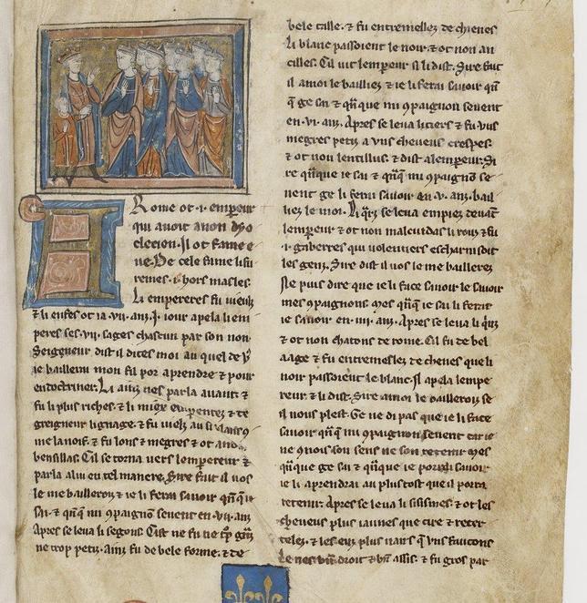 Hallan en Escocia el incunable más antiguo en castellano de «La historia de los siete sabios de Roma»
