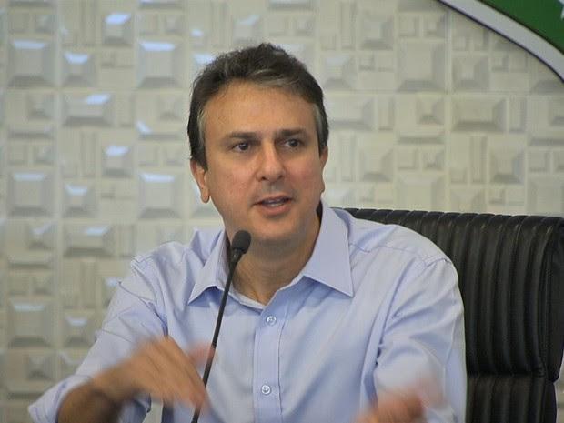 Camilo Santana (Foto: TV Verdes Mares/Reprodução)