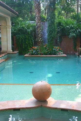 Wolford garden pool