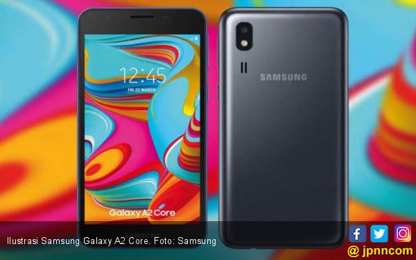 Galaxy A2 Core, Senjata Baru Samsung di Kelas HP Murah - JPNN.COM