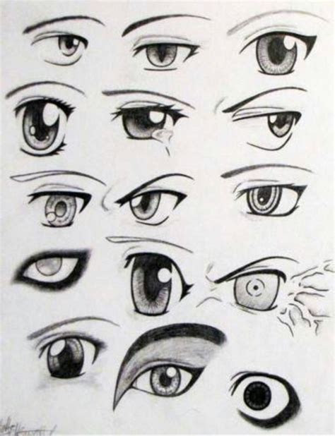 eyes anime manga eyes emotions art