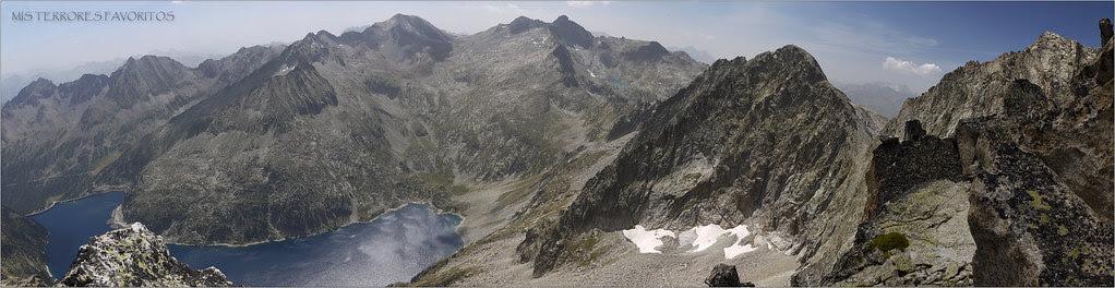 GRAN PANORÁMICA DESDE EL PICO RAMOUGH 3011 m
