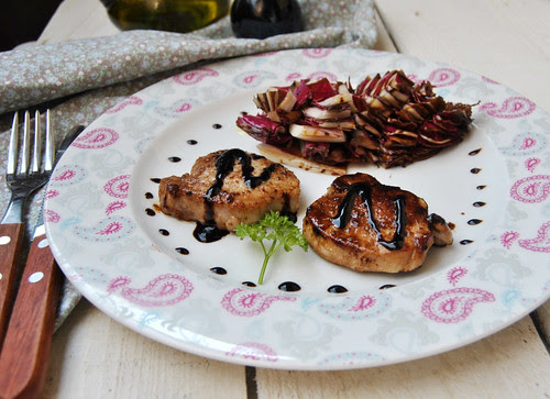 Pork Medalions with Balsamic Glaze