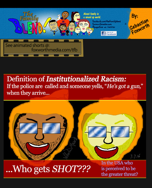 Cartoons: Definition of Institutionalized Racism