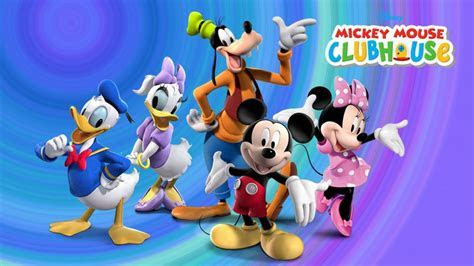Mickey And Friends Clubhouse Disney Cartoon For Children