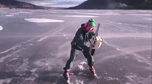 Chainsaw Ice Skating… - Highpants