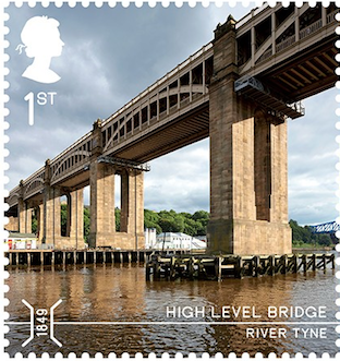 River Tyne High Level bridge Newcastle.