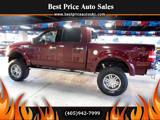 Used 2004 Ford F150 for Sale in Oklahoma City OK 73112 Best Price Auto Sales