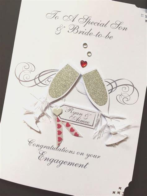 Personalised Handmade Engagement Card   eBay