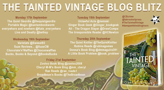 #BlogTour #Promo ~ The Tainted Village by Clare Blanchard @CBCrime @fahrenheitpress | Ali - The Dragon Slayer