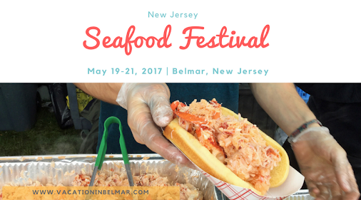 Get your fill of lobster rolls, crab cakes, coconut shrimp, and more at the New Jersey Seafood Festival...