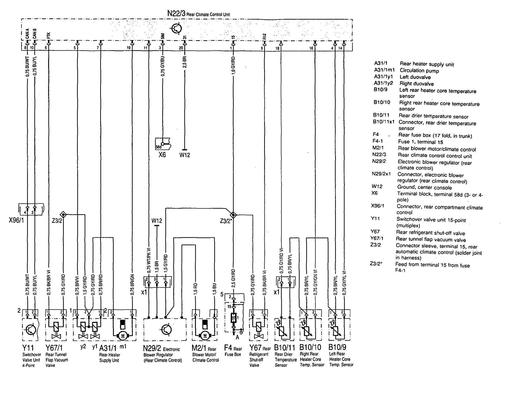 2002 C320 Fuse Diagram