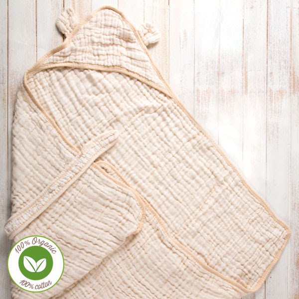 Find the Right Baby Gift with LuvdBaby Premium Hooded Bath Towel {A Deal}