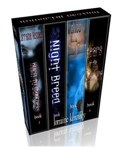 Immortal Destiny Series Books 1,2,3 & 4 - Vampire Romance / Paranormal Romance by Lorraine Kennedy