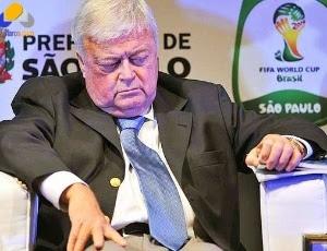 Ricardo Teixeira, presidente da CBF, pediu licença médica e pode ficar afastado por até 60 dias