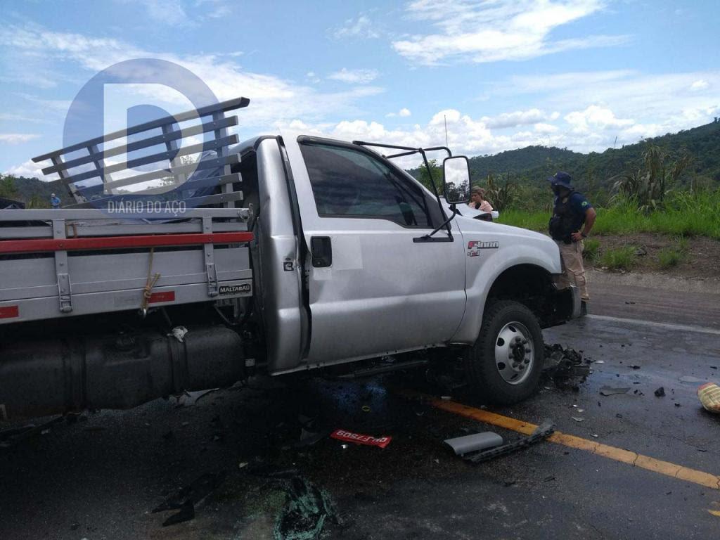 Contorno rodoviário da BR-381 em Coronel Fabriciano é palco de mais um grave acidente