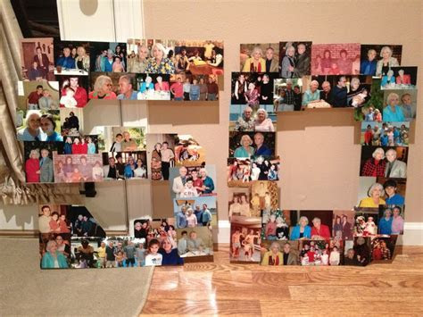 Picture collages, 50th wedding anniversary and Collage on