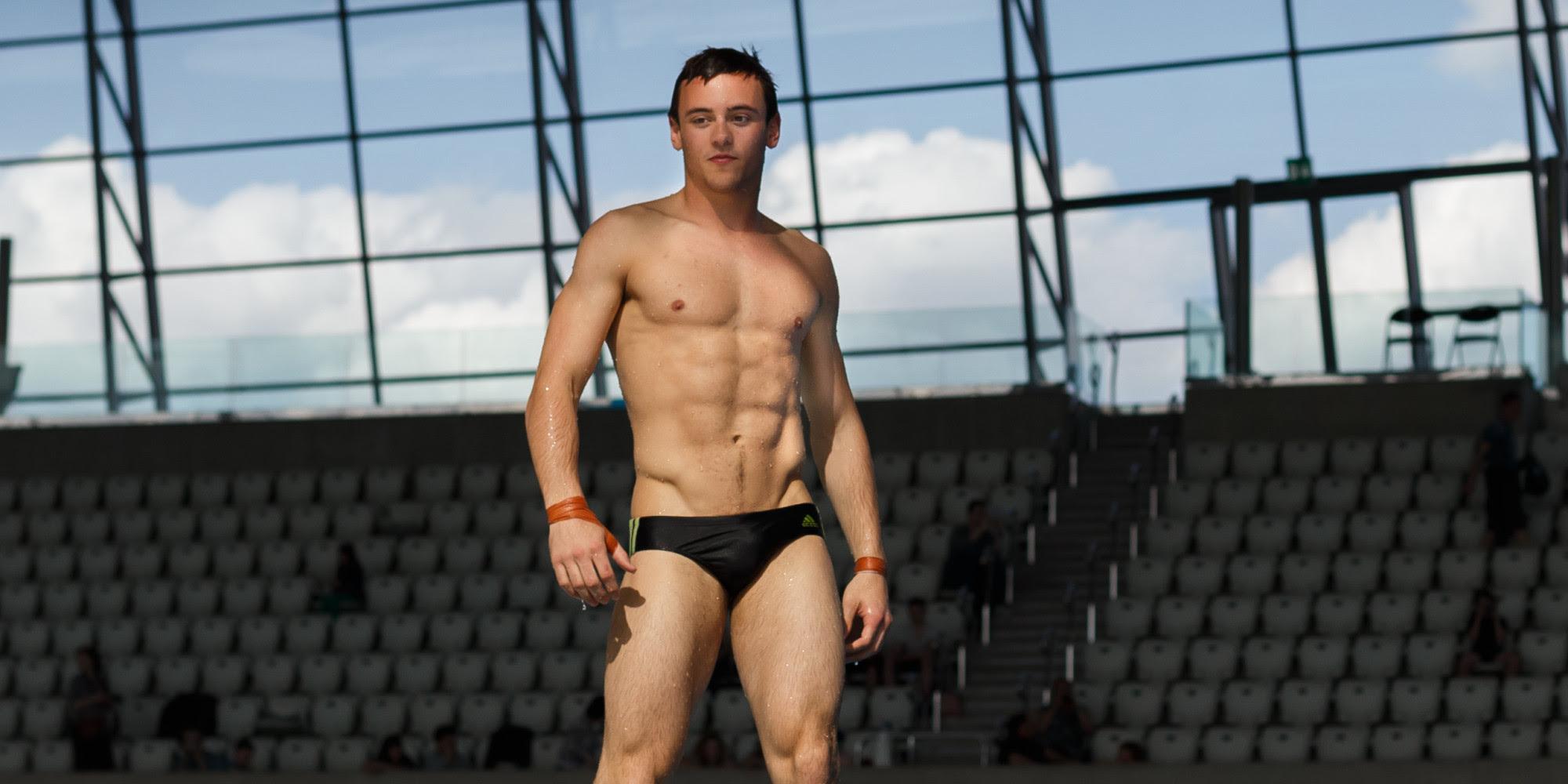 Tom Daley in swimwear