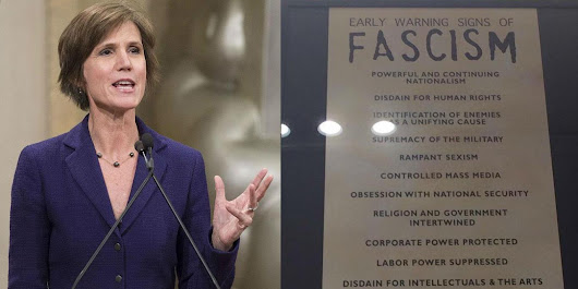 This list of 14 early warning signs of fascism is going viral for good reason