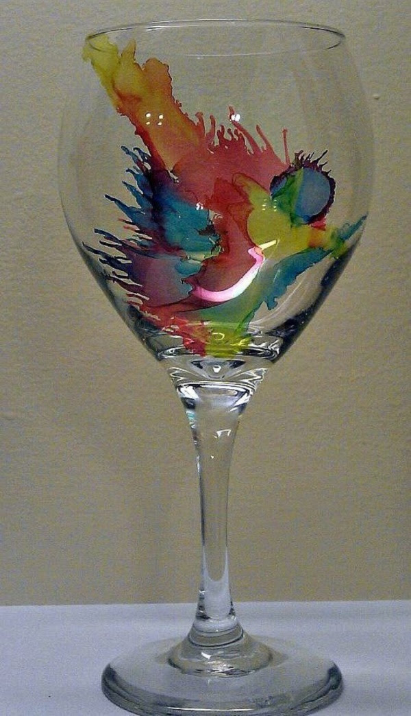 Original Alcohol Ink On Glass Examples36