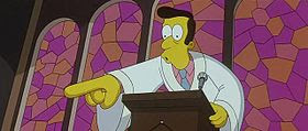 Timothy Lovejoy nel film dei Simpson.
