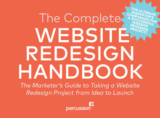 Make Your Next Website Redesign Easy with This Free 65-page Guide
